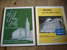 The Silver Grille Memories & Recipes 2 Books Higbees  One is Signed  Cleveland