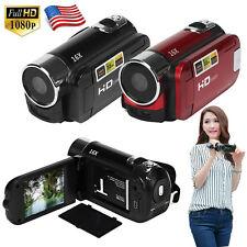 "2.7"" Full HD 1080P Digital Zoom Video Camera DV Camcorder 16MP 16X 32GB SD/SDHC"