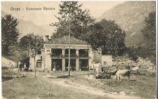 CARTOLINA OROPA RISTORANTE ALPESTRE - CASCINA FORNACE - BIELA  VIAGGIATA TORINO