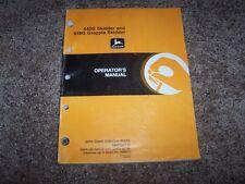 John Deere 640G 648G Grapple Skidder Owner Operator Maintenance Manual OMT160645