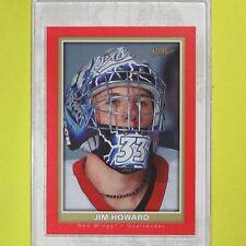 """JIM HOWARD  2005-06  """" BEEHIVE ROOKIES  RED """"  #119  Detroit Red Wings"""