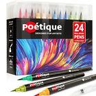 24PCS Colors Acrylic Paint Marker Pens for Rock Painting, Wood, Fabric, Mug,