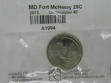 2013 MD Fort McHenry 25Cents Uncirculated-60