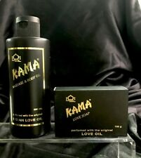 Kama Massage & Body Oil 280gr & Soap Perfumed With The Original Indian Love Oil