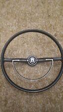 Classic vw beetle steering wheel 1966 d ring black original