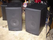 New listing Infinity Rs2 2-Way Bass Reflex Charcoal Gray Audiophile Shelf Stereo Speakers