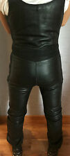 SALOPETTE CUIR MOTO GRATZER LEADING LEATHERS  LEATHER LEDER T48 M GAY BIKER