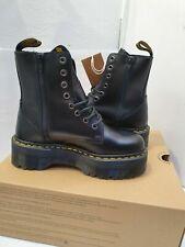 Dr Martens Jadon Leather Platform Boots UK 4 EU 37 US 6 Black Unisex