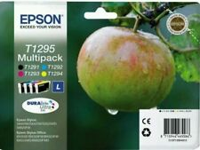 Genuine Epson T1295 Apple Ink Cartridges T1291,T1292,T1293,T1294