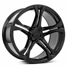 MRR M017 20X10/11 ET23/43 5X120 Gloss Black wheels fit CHEVY CAMARO ZL1 2010-16