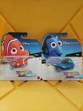 Finding Nemo Dory and Nemo Pixar 2021 Hot Wheels Disney Animation Character Cars