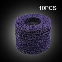 10X 4'' Poly Strip Disc Wheel Paint Rust Removal Clean For Angle Grinder 100mm