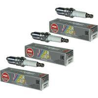3X NGK Laser Iridium Premium Zündkerze 4477 Typ ITR6F13 Zünd Kerze