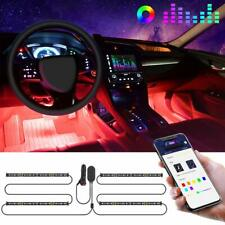 Interior Car Lights, Govee Car LED Strip Light Upgraded Two-Line Design