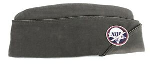 Named US Army Airborne Officers Overseas Cap WWII WW2