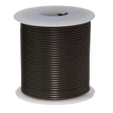 """16 AWG Gauge Stranded Hook Up Wire Black 25 ft 0.0508"""" UL1015 600 Volts"""