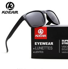 KDEAM Men Women Polarized Sunglasses Outdoor Driving Sport Square Glasses New