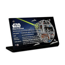Display plaque  for  LEGO Star Wars UCS Death Star 75159( Top Rated Seller)