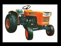 s l200 kubota g1800 tractor parts manual 100pgs for g 1800 tractor repair kubota g4200 wiring diagram at edmiracle.co