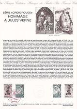Document Philatélique Timbre 1er Jour : 20/11/ 1982 - Croix Rouge Jules Verne