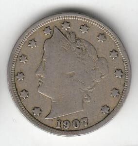 USA LIBERTY NICKEL 1907             153B             BY COINMOUNTAIN