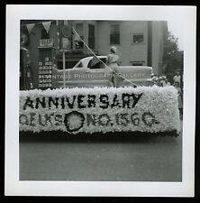Vintage Photo Nash Metropolitan Car Auto Elks Parade Float Springfield Vermont