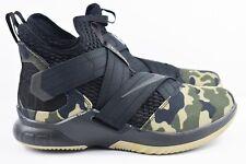 Nike Lebron Soldier XII 12 SFG Mens Size 8 Basketball Shoes Camo AO4054 001