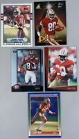 Jerry Rice & Steve Young Lot Of 25 Different Cards Incl Some Inserts NM-MT Cond
