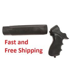 Hogue Rubber Overmolded Stock Mossberg 500 12 Gauge Pistol Grip and Forend 05015
