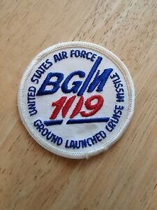 USAF Ground Launched Cruise Missile BGM 109 Patch