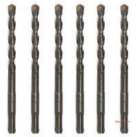"6PCS/Lot SDS Plus 3/8"" X6"" Rotary Hammer Concrete Masonry Drill Bit Carbide Tip"
