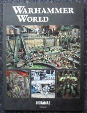 WARHAMMER WORLD EXCLUSIVE DIORAMAS BOOK - GAMES WORKSHOP - FORGEWORLD - NEW