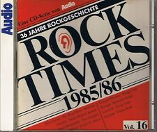 Audio Rock Times Vol. 16 1985-86 CD Various Audiophile