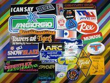 vtg 1970s 1980s Ski Skiing sticker - Raichle Munari Toko Dynastar Atomic Kastle