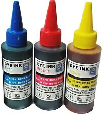 Printer Refill Ink Bottles for CISS Cartridges Cyan Magenta Yellow Colours