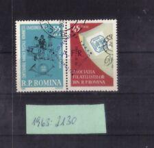 Rumänien 1963: Generalversammlung Philatelistenverband - Mi. 2130 o