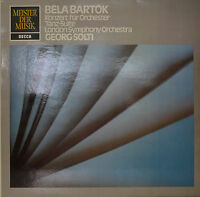 "Bela Bartók -tanz-suite - Georg Solti 12 "" LP (N439)"