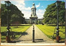 Irish Postcard TRINITY COLLEGE Campanile Dublin Ireland O'Toole John Hinde 2/609
