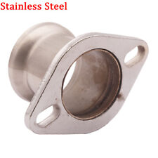 "3""INCH Stainless Steel Pipe to 2.5"" 2 bolt Flange Reducer Downpipe Turbo Exhaust"