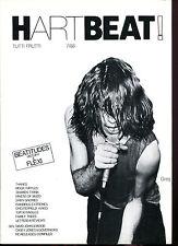 HARTBEAT !  Fanzine  No.   7/88  mit Beatitudes Flexi  (Psych / Indi / Garage)