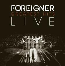 Foreigner-Greatest Hits-LIVE-CD NUOVO