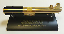 GOLD SW-310 Star Wars Lightsaber .45 Master Replicas Anakin Skywalker ROTS