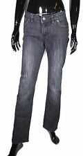 GJ4-117 Street One Vivica straight leg Basic Damen Jeans schwarz W29 L32 Stretch