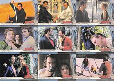 THE COMPLETE HIGHLANDER THE SERIES 2003 RITTENHOUSE BASE CARD SET OF 126 TV