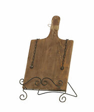 GLENROY METAL & TIMBER BOARD EASEL RECIPE PAINTING HOME DECOR VINTAGE