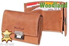 Geldbörse Woodland - Originelle Mini-Taxibörse Kellner-Geldbeutel Büffelleder
