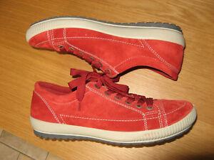 Legero Tanaro 4.0 Komfortschuhe Sneaker Velourleder rot Marte 40 NEU 79 EURO