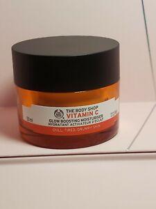 The Body Shop Vitamin C Glow Boosting Moisturizer 1.7oz / 50ml NEW