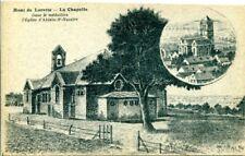 Ancient AK, Mont De Lorette-La Chapelle, dans le Médaillon l' Eglise d' ablain-ST-N