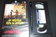 [1586] Un incendio visto da lontano (1988) VHS rara Iosseliana